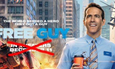 Free Guy, aquele filme de videogame estrelado por Ryan Reynolds, teve sua data de lançamento de 2020 adiada.