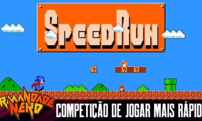 Speedrun: Competição de Jogar Mais Rápido... Gotta Go Fast! | IN #40