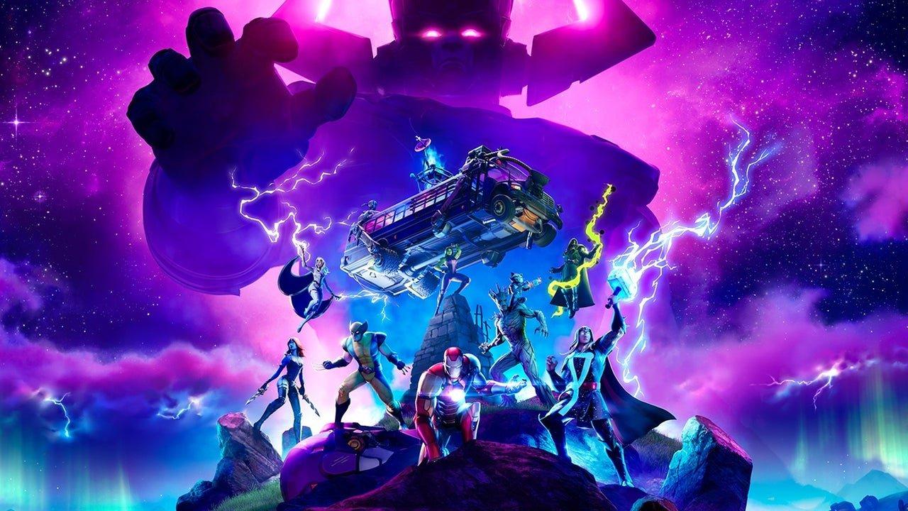 Um vazamento da comunidade do Fortnite divulgou uma imagem que nos permite ver como seria a skin do vilão Galactus no último evento.