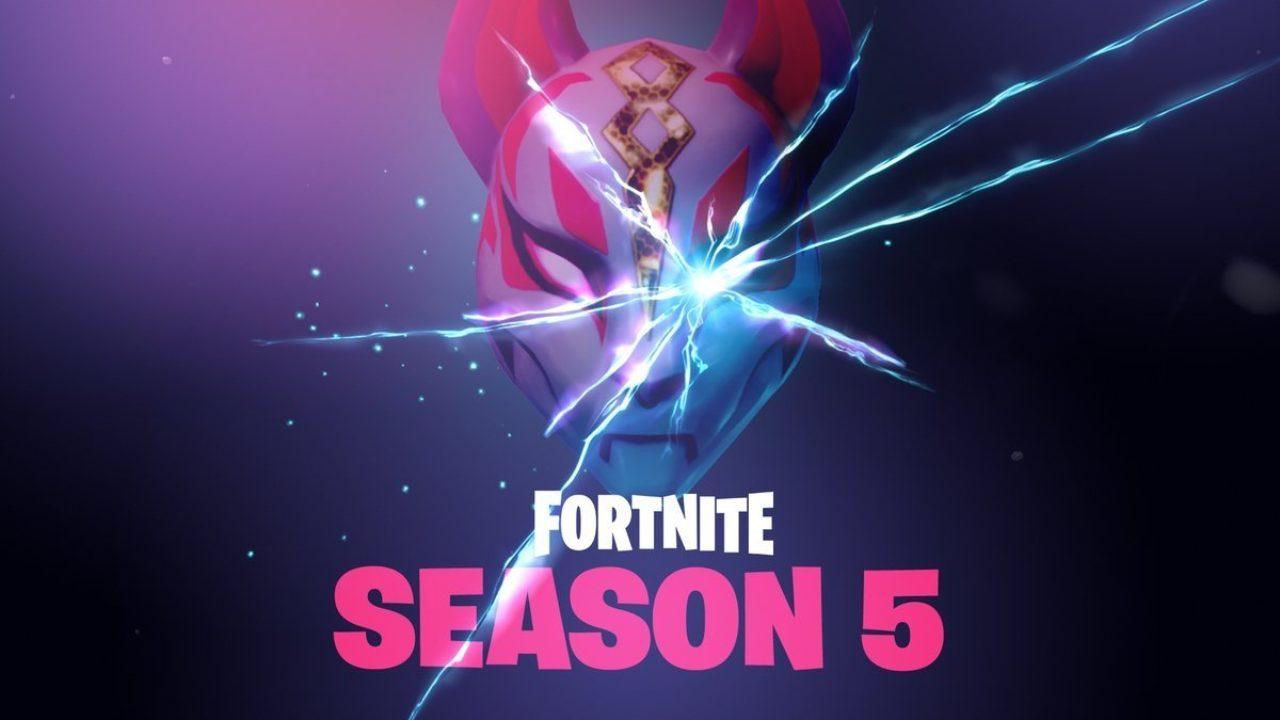 Um recente vazamento já trouxe a possivel data de lançamento da 5° temporada de Fortnite, a qual pode começar bem antes que o esperado.