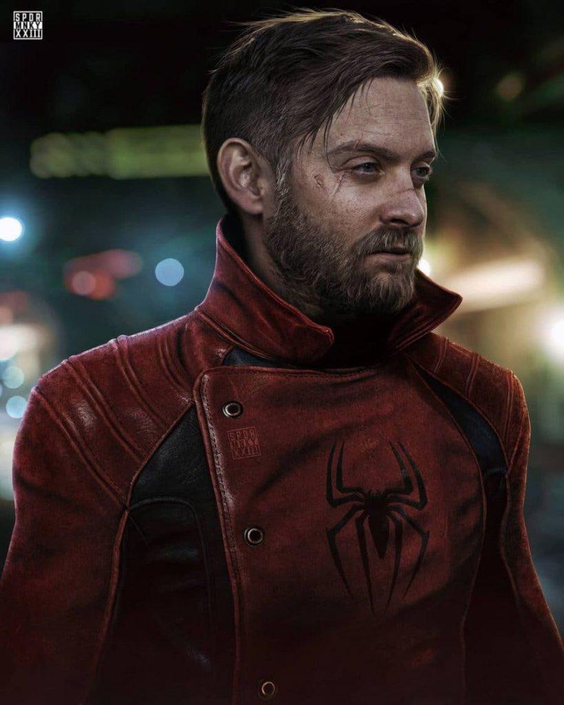 Homem-Aranha 3 | Artista cria versão envelhecida do Peter Parker de Tobey Maguire 1