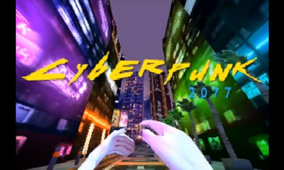 Cyberpunk 2077 foi recriado para o PlayStation 1 com detalhes épicos, e é quase tão cheio de bugs e falhas quanto o jogo original.