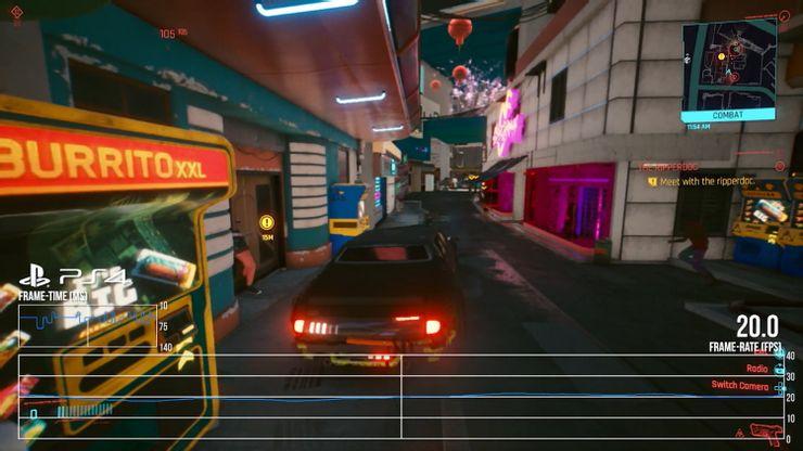 Digital Foundry diz que Cyberpunk 2077 no PS4 parece um porte de Switch 1
