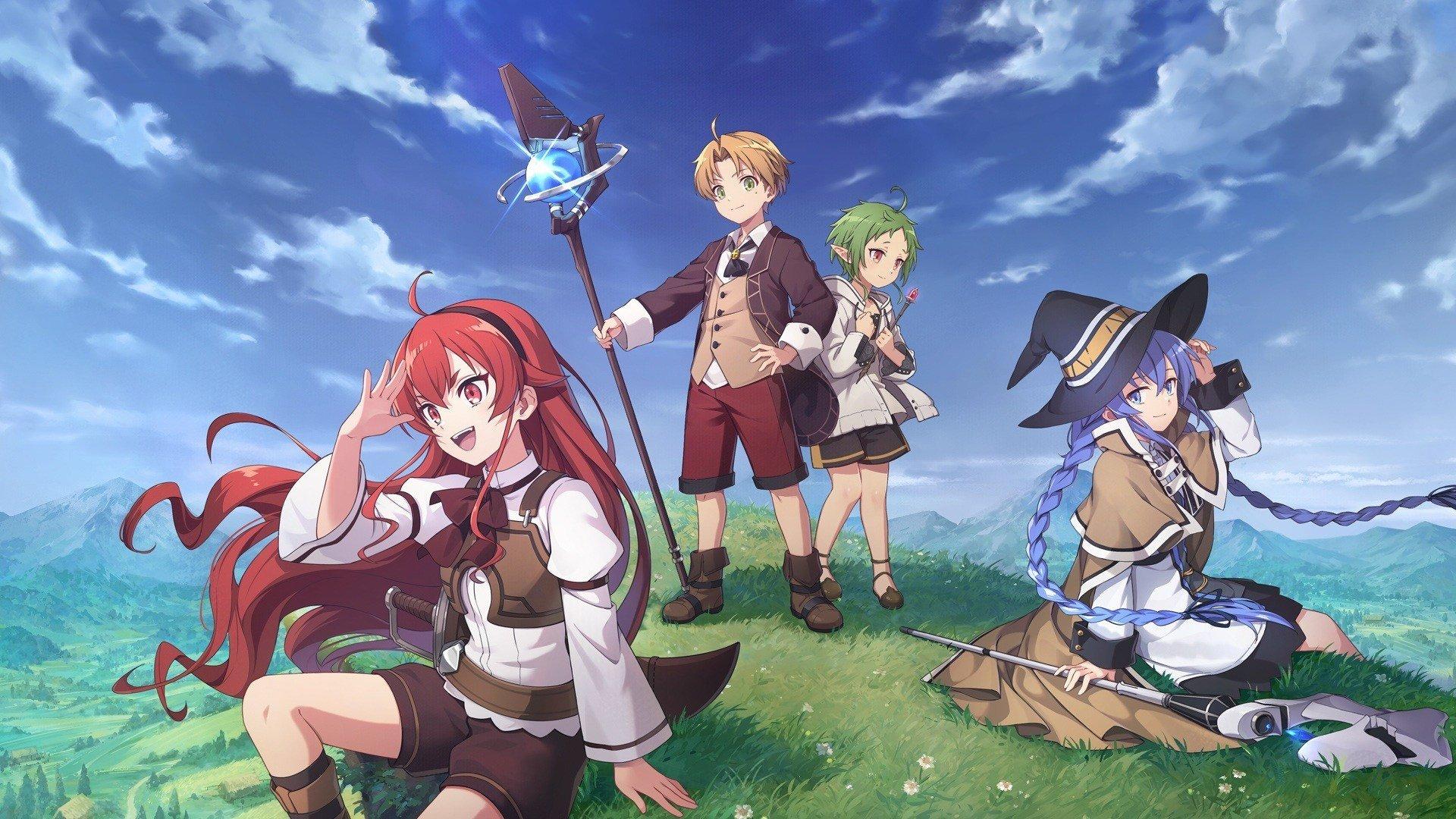 """A Funimation revelou que irá transmitir a adaptação para anime da light novel """"Mushoku Tensei"""", e o site oficial revelou a data de estreia."""