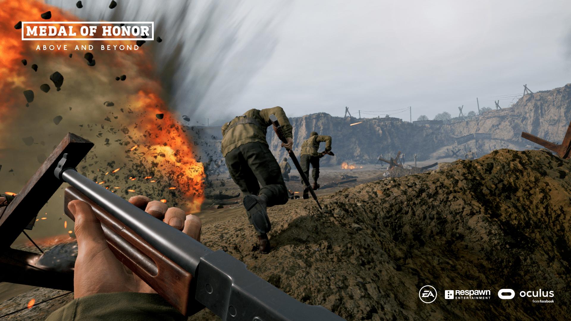 Medal Of Honor: Above And Beyond foi lançado como uma surpresa no The Game Awards 2020. Infelizmente, com problemas de desempenho e bugs.