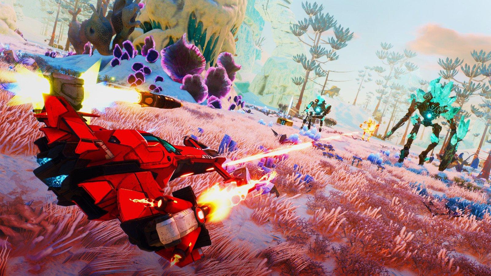 Starlink: Battle for Atlas está totalemnte de graça e todos os jogadores podem baixá-lo sem custo adicional através do Ubisoft Connect no PC.