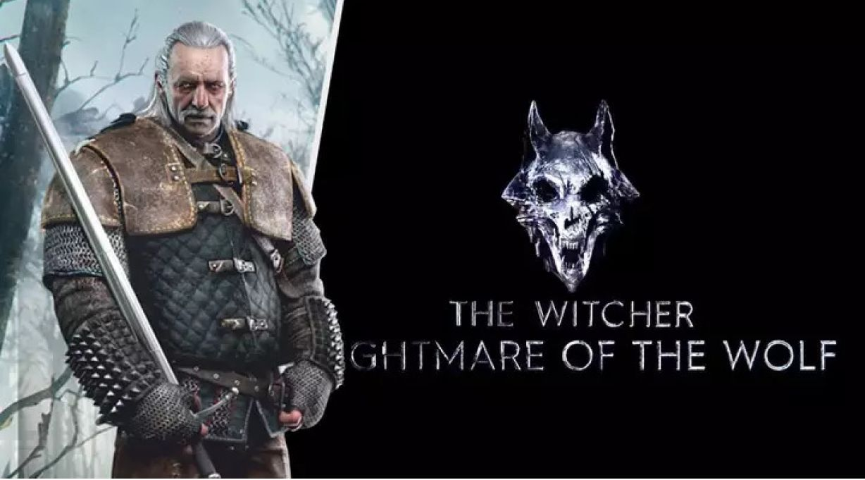 """A Netflix mostrou o logotipo oficial do filrm animação de The Witcher, Nightmare of the Wolf, que será lançado em uma data """"breve"""" de 2021."""