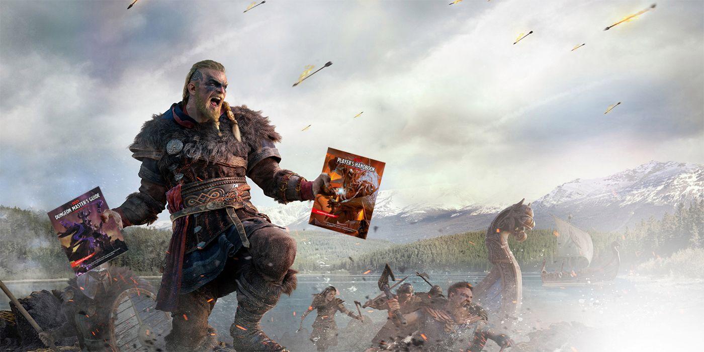 Encontrada por uma streamer, uma área do jogo contém evidências de uma versão Assassin's Creed Valhalla do popular Dungeons & Dragons.