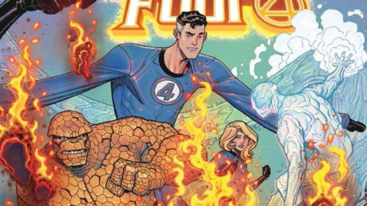 Um leaker vazou uma capa de quadrinhos que a Epic Games estaria distribuindo internamente contendo o crossover entre Fortnite e o Quarteto Fantástico.