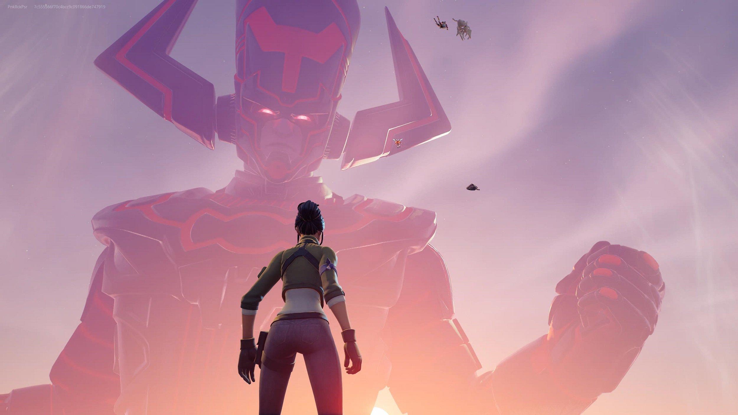 Finalmente chegou o evento mundial com a batalha contra Galactus, que fecha a quarta temporada do segundo capítulo de Fortnite.
