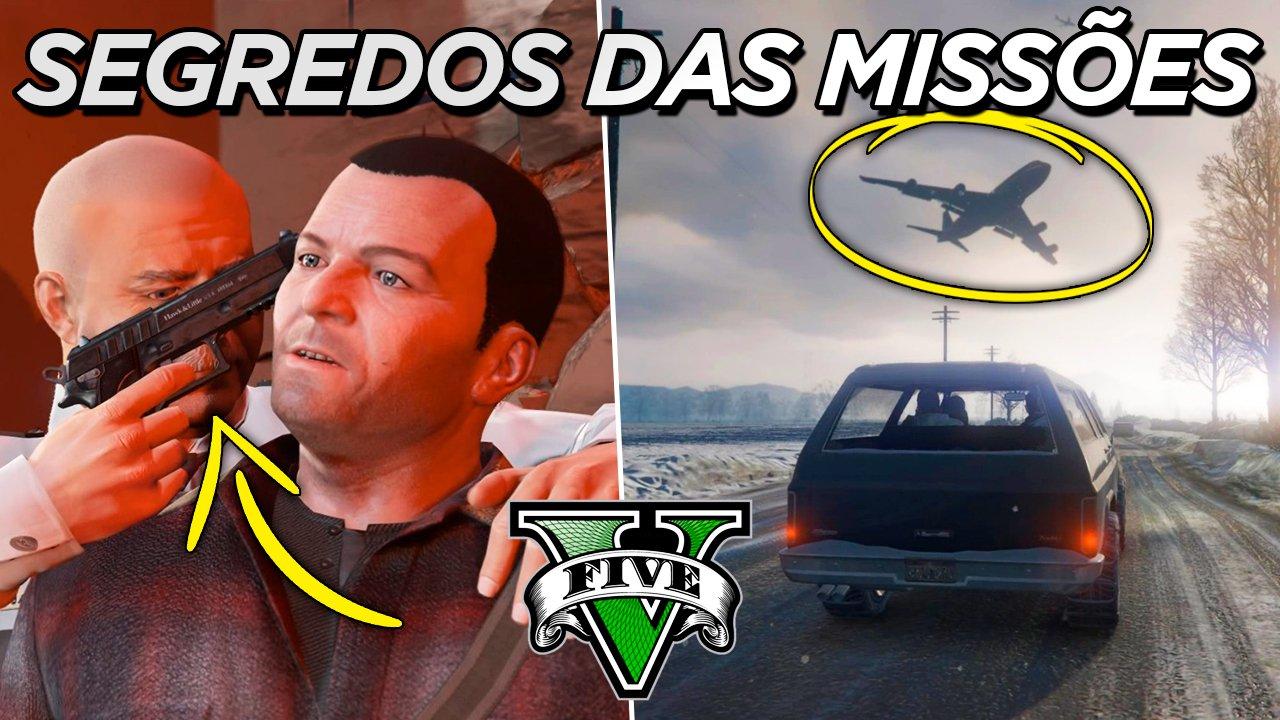 """GTA 5   Segredos revelados da missão """"Prólogo"""""""