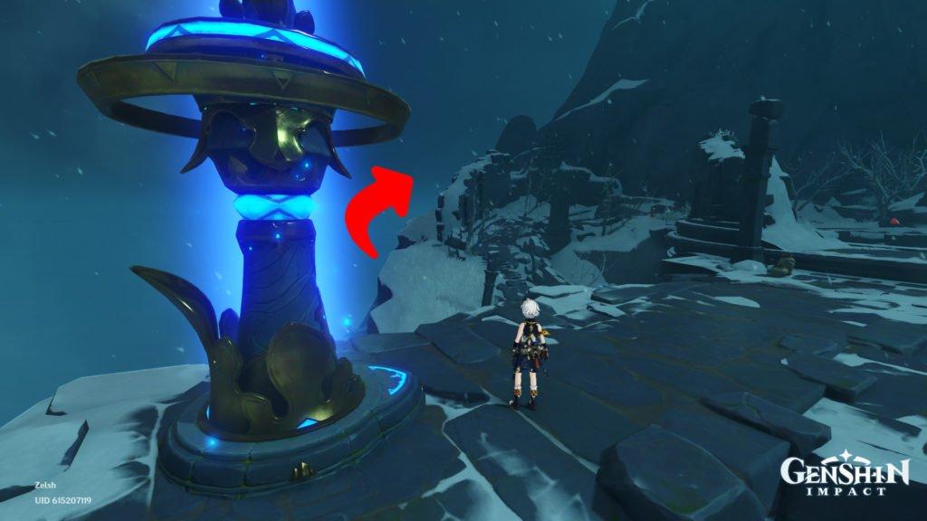 Genshin Impact   Como encontrar as esculturas antigas 2