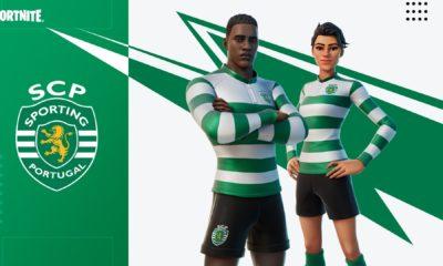 Em uma parceria um pouco diferente do habitual, o clube de Futebol português, Sporting CP junto com outras dezenas de clubes de futebol profissional firmaram uma parceria com a Epic Games para promover o Fortnite