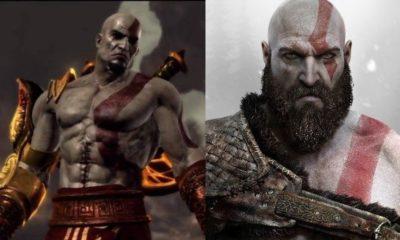 Um novo mod remove alguns dos novos recursos de Kratos de God of War para revelar o design original da era PS2 e PS3 da série.