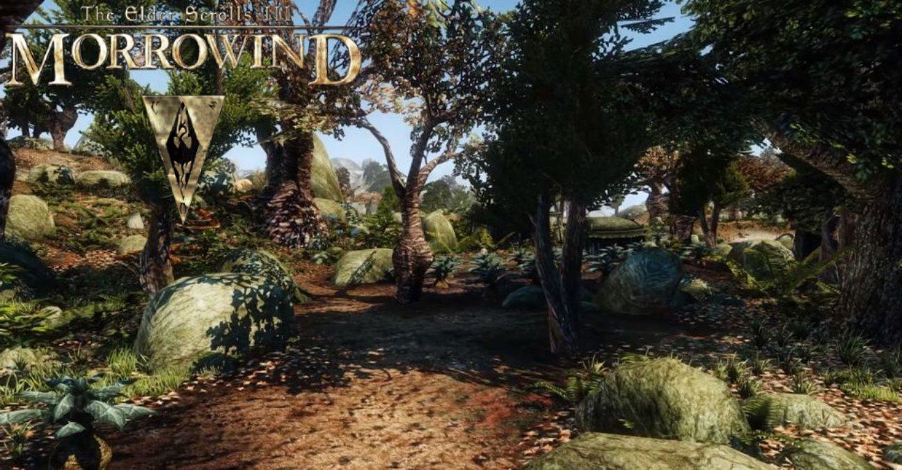 The Elder Scrolls III: Morrowind nunca esteve melhor, graças ao mais nobo OpenMW, e claro centenas de mods da comunidade.