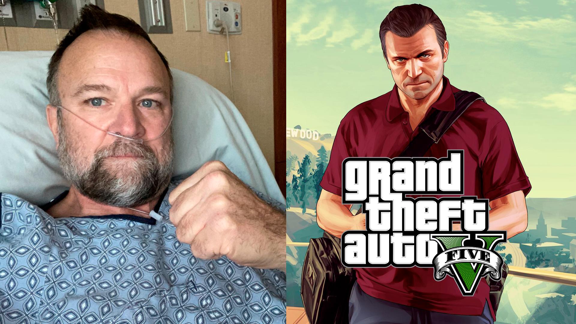O ator de Michael de Santa, de GTA 5, Ned Luke está com Covid 19 , ele está em recuperação no Hospital Emory Johns Creek nos Estados Unidos.