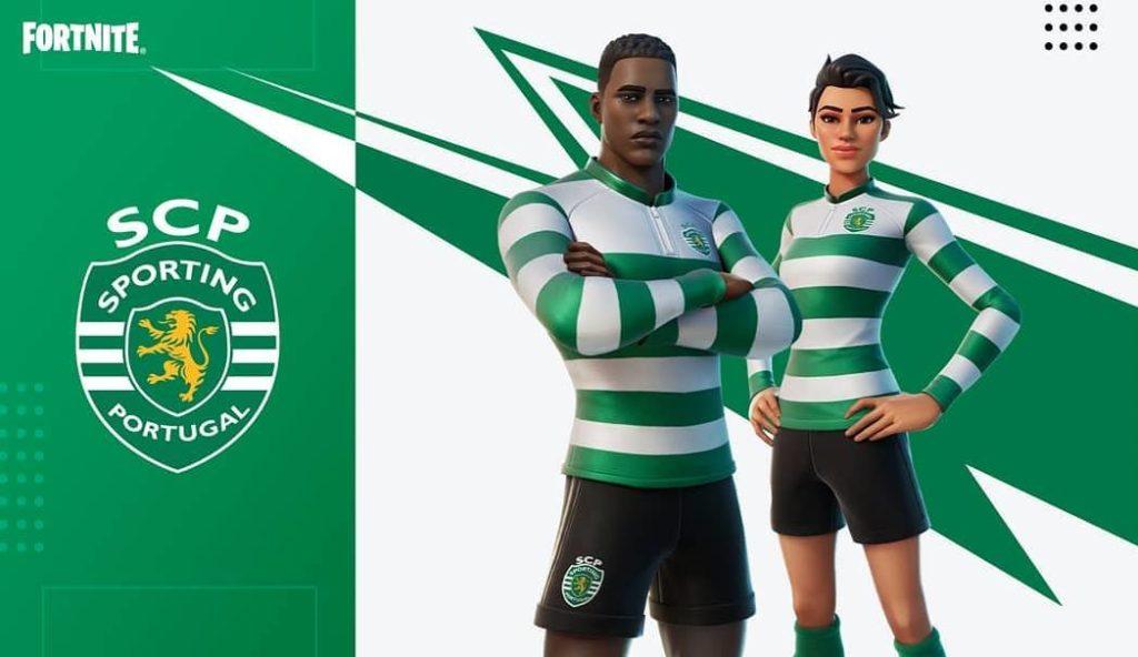 Sporting CP ganha Skins oficiais no Fortnite Battle Royale 1