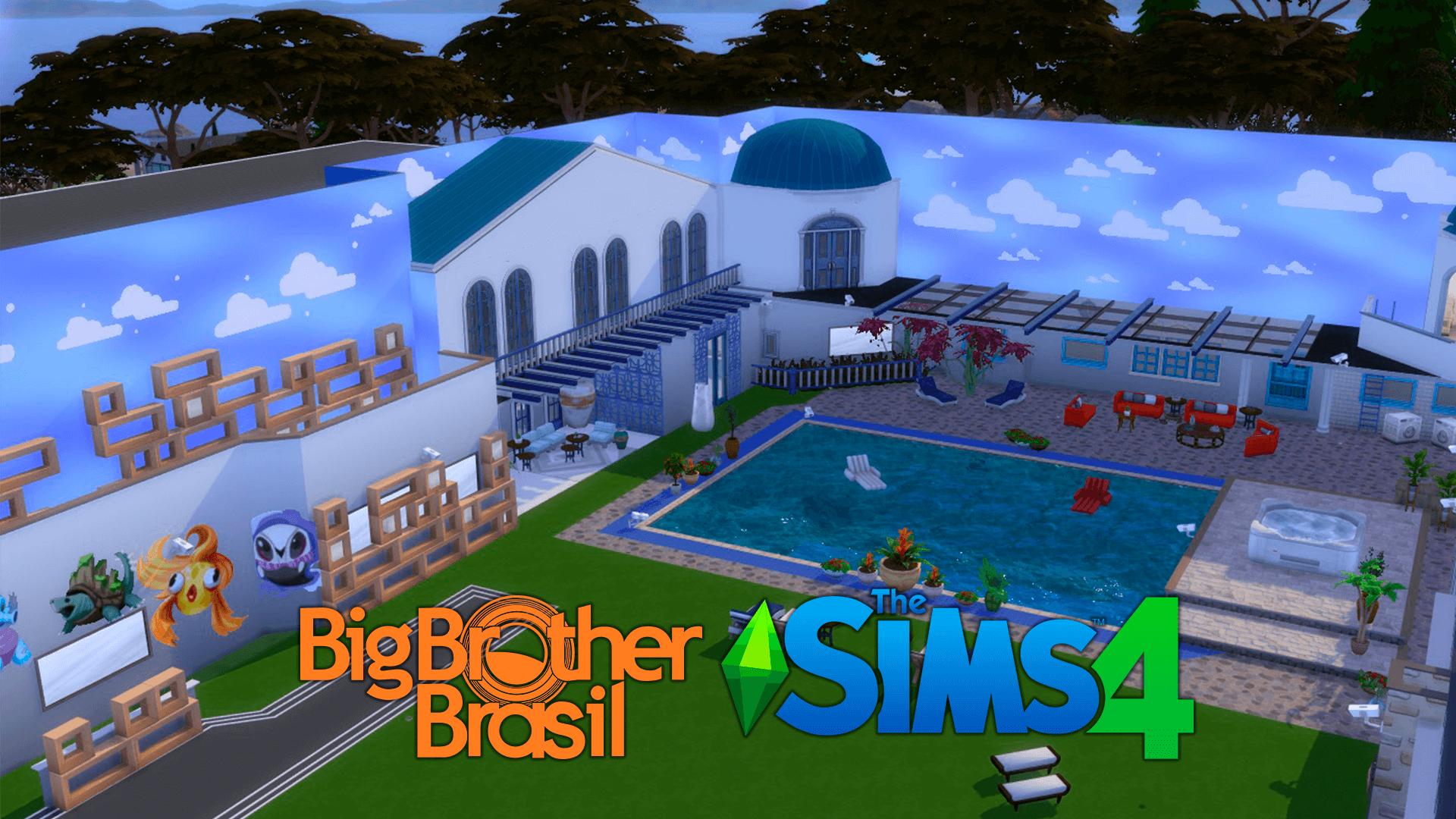 BBB21 | Fã constrói casa do Big Brother no The Sims 4; Confira! 1