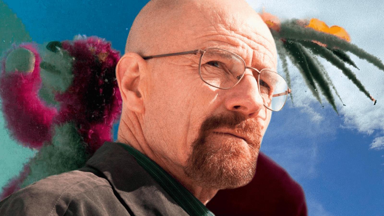Na 2º temporada de Breaking Bad, um choque de aviões causados por situações da série, deixam vários destroços em cima da casa de Walt.
