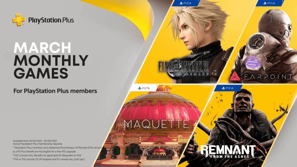 PS Plus Março | Jogos gratuitos revelados oficialmente 1