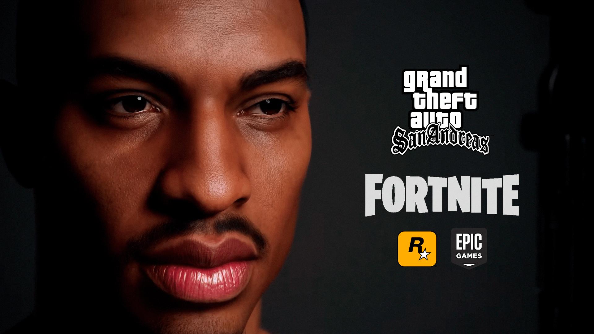 O Fortnite é conhecido por ter diversas parcerias inusitadas, mas agora existe a chance do personagem CJ de GTA San Andreas chegar ao BR.