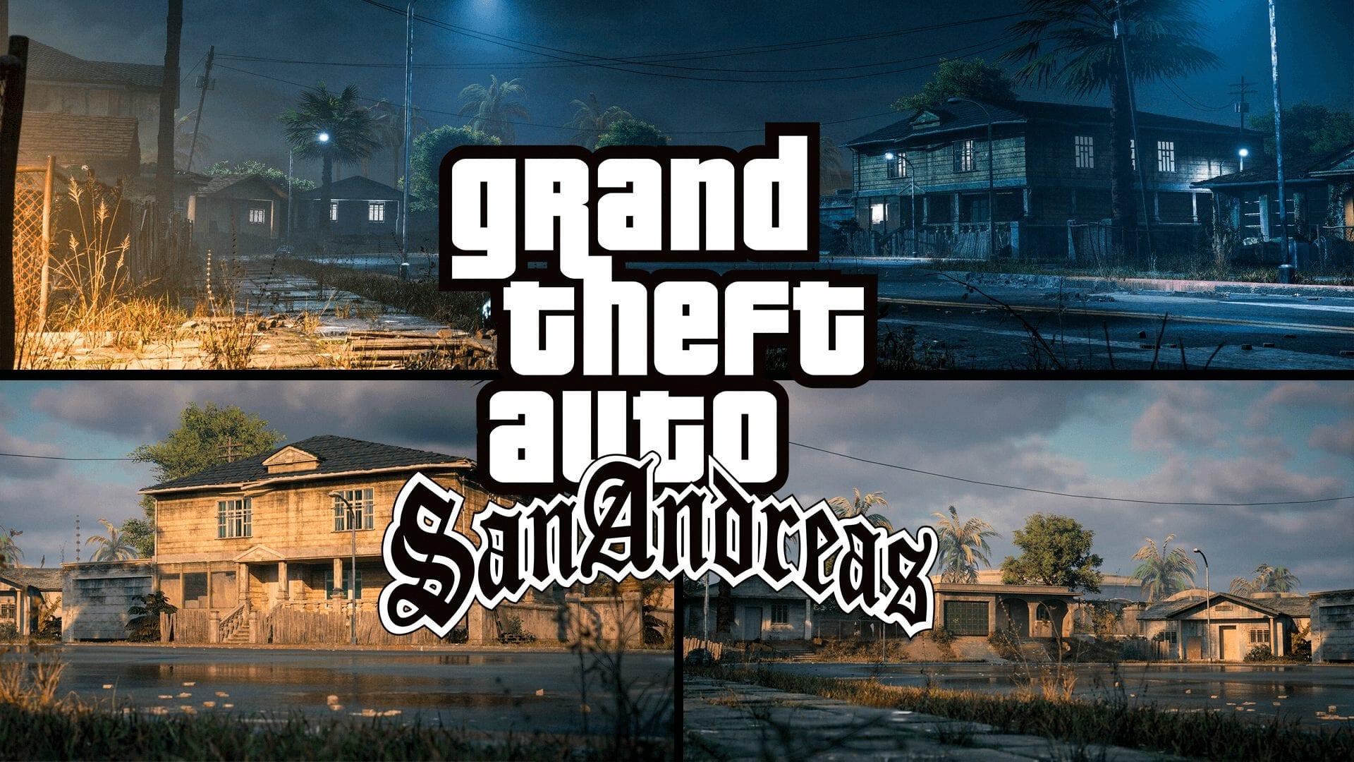 Um fã com conhecimentos da Unreal Engine da Epic Games decidiu recriar uma das icônicas ruas de GTA San Andreas, a Grove Street em HD.