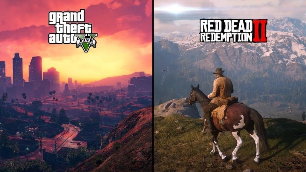 Grand Theft Auto 5 e Red Dead Redemption 2 foram anunciados no Twitter e GTA 6 também deve ser.