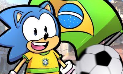 O ouriço azul da SEGA acabou de chegar ao Brasil, a partir de agora, os fãs brasileiros de Sonic vão poder acompanhar as novidades.
