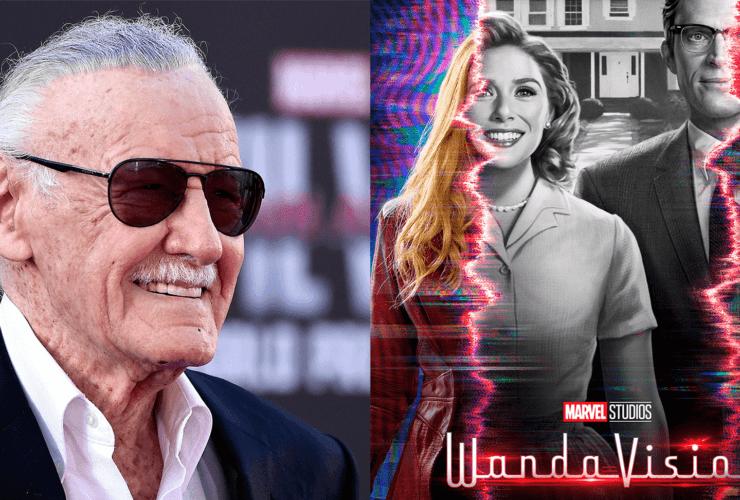 O diretor de WandaVision, Matt Shakman, confirmou que um episódio continha um Easter Egg de Stan Lee, o ex-presidente da Marvel Comics.