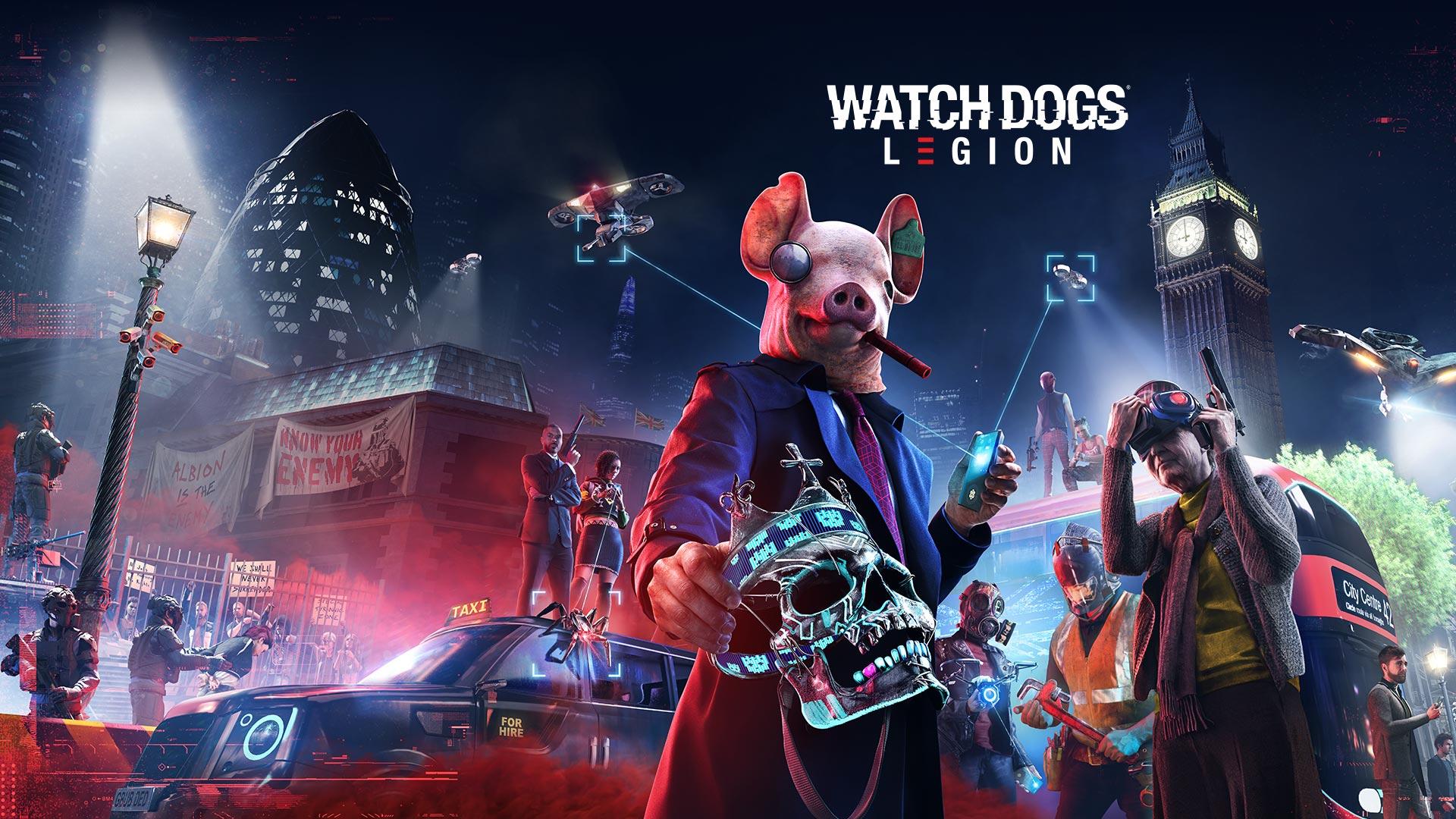 Se você pretender manter Watch Dogs Legion na sua biblioteca, a Ubisoft preparou uma campanha que coloca o jogo com um desconto de até 50%.