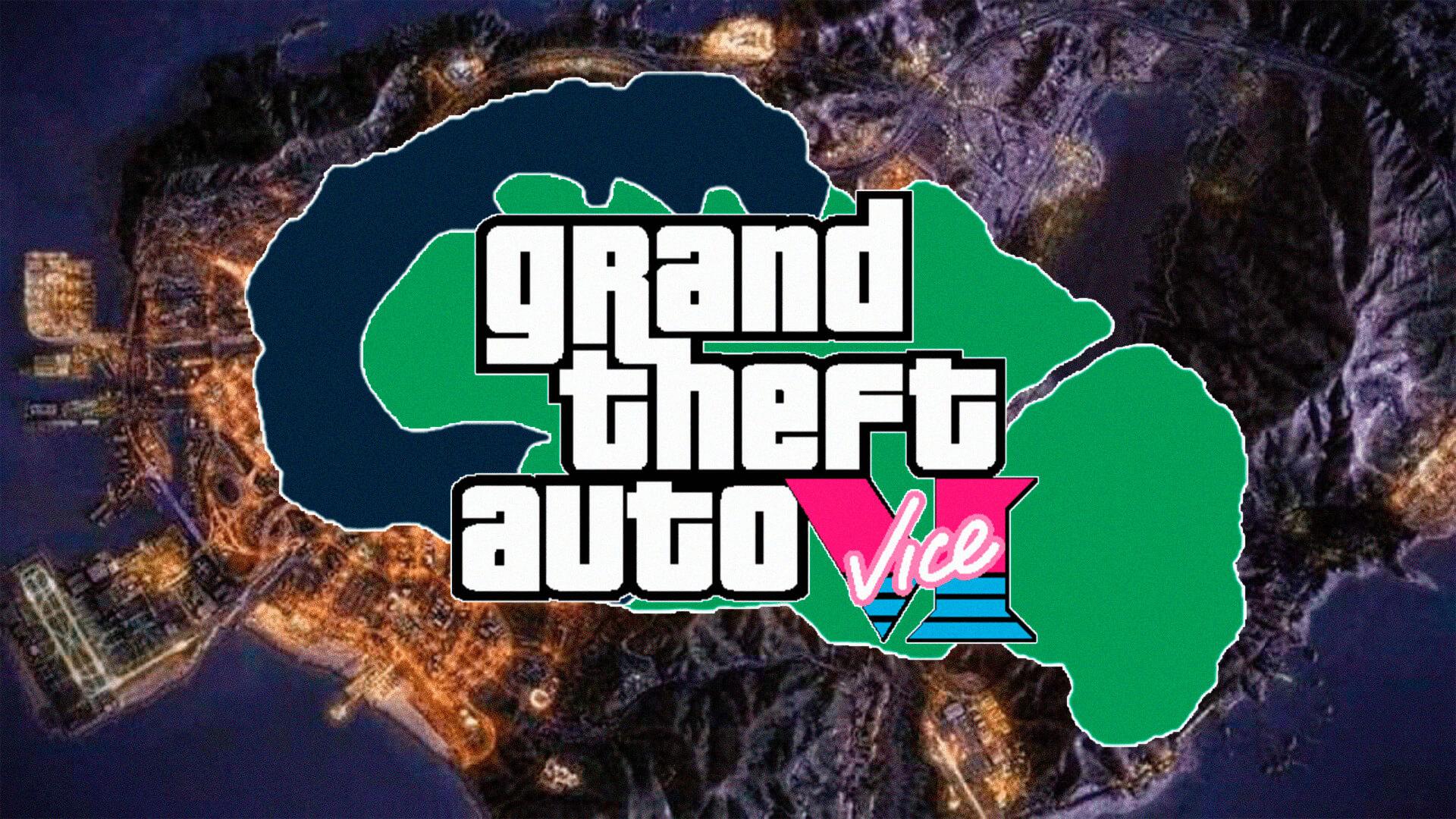 Um suposto mapa de GTA 6 recebeu agora mais uma imagem, este é aquele mapa de Vice City que ficou bastante conhecido em 2020.