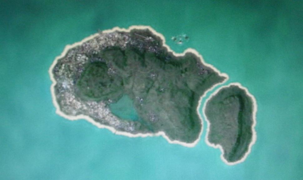 Outra imagem mostrando uma ilha