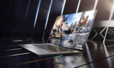 A NVIDIA anunciou hoje diversos novos laptops com GPUs GeForce RTX, que oferecem Ray Tracing em tempo real e DLSS movido a IA.