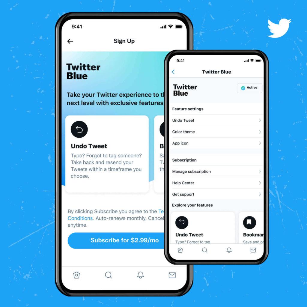 O Twitter Blue ainda não chegou no Brasil.