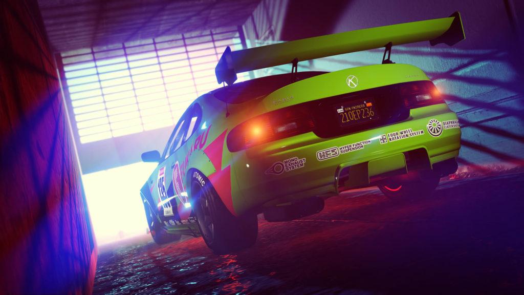 Teaser da próxima DLC de GTA Online divulgado em Maio de 2021.