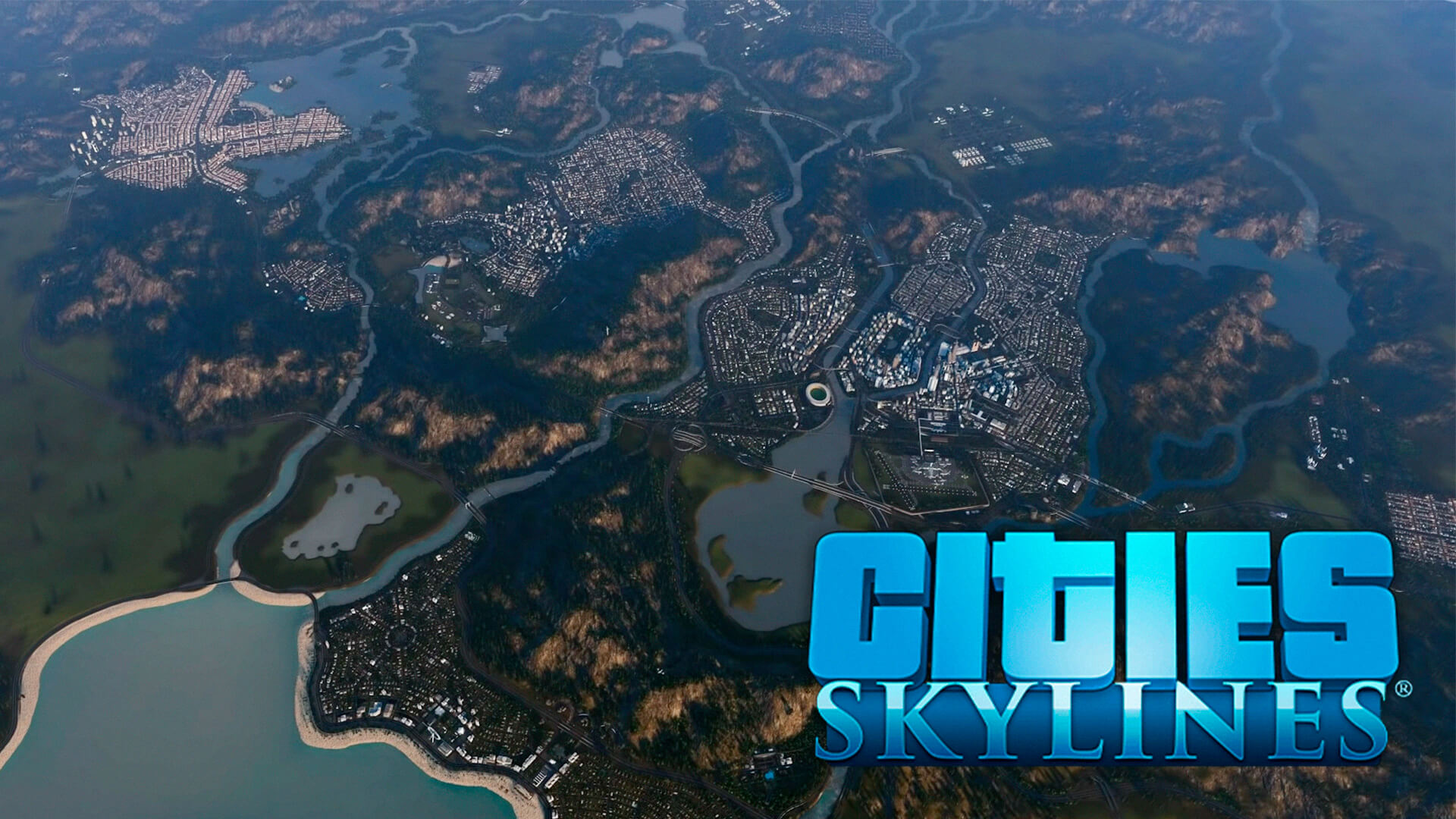 Um brasileiro, jogador de Cities Skylines está construindo uma cidade incrível no jogo da Paradox e vem postando a sua evolução no YouTube.