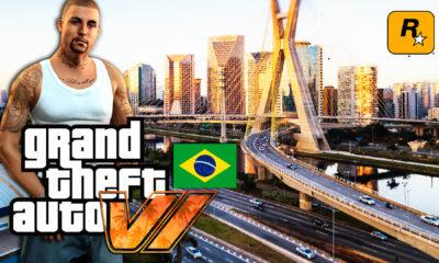 Um fã imaginou como seria Grand Theft Auto VI (GTA 6) em São Paulo no Brasil e postou no YouTube diversas imagens do conceito.