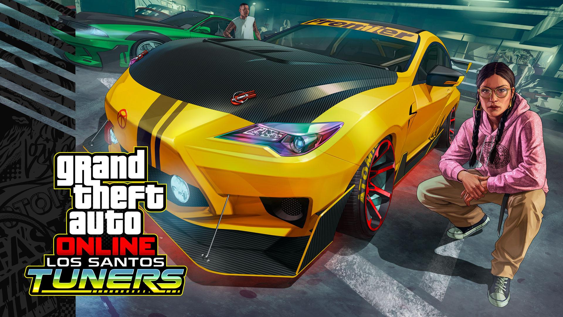 A Rockstar Games acabou de divulgar o trailer da nova DLC de GTA Online (Grand Theft Auto 5), que será conhecida por Los Santos Tuners.