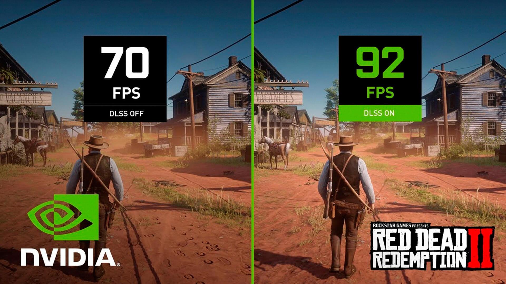 Red Dead Redemption 2 recebeu uma DLC para o modo online conhecida por Bood Money, no entanto, os jogadores de PC ganharam suporte ao DLSS.