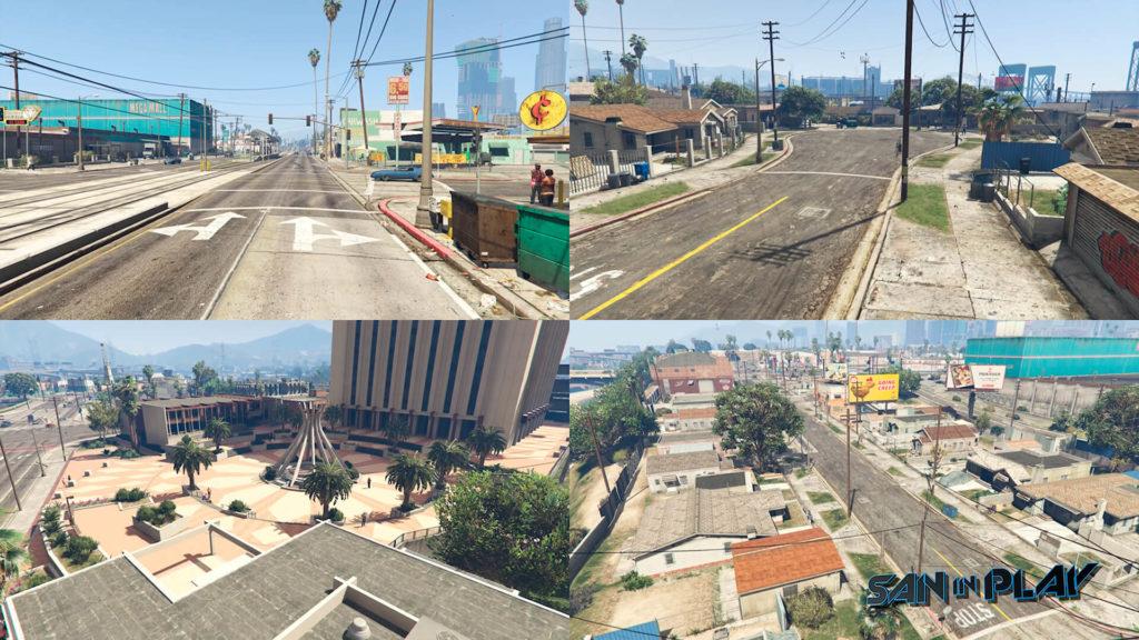Davis e Ganton são as cidades inspiradas em Compton de GTA 5 e GTA San Andreas.