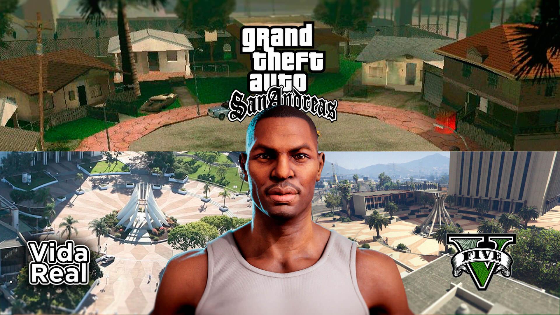 GTA San Andreas | Conheça a cidade onde CJ viveu na vida real 1
