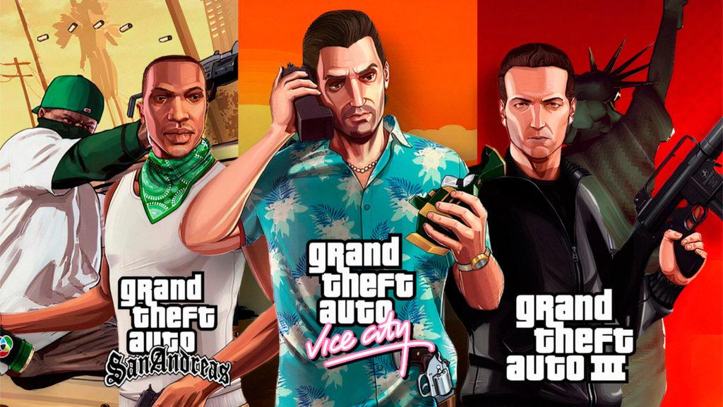 GTA 3, Vice City e Grand Theft Auto San Andreas podem ser relançados pela Rockstar Games para os consoles da atual e da nova geração.