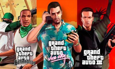 GTA 3, Vice City e Grand Theft Auto San Andreas vão ser relançados pela Rockstar Games para os consoles da atual e da nova geração.