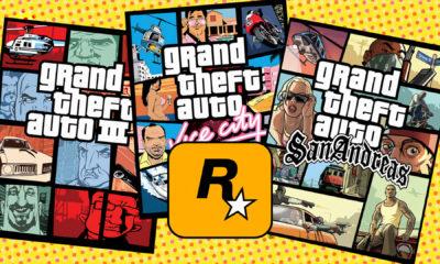GTA San Andreas, Vice City e Grand Theft Auto 3 são removidos das lojas online 3