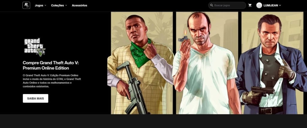 Rockstar Games abre a sua nova loja online 1