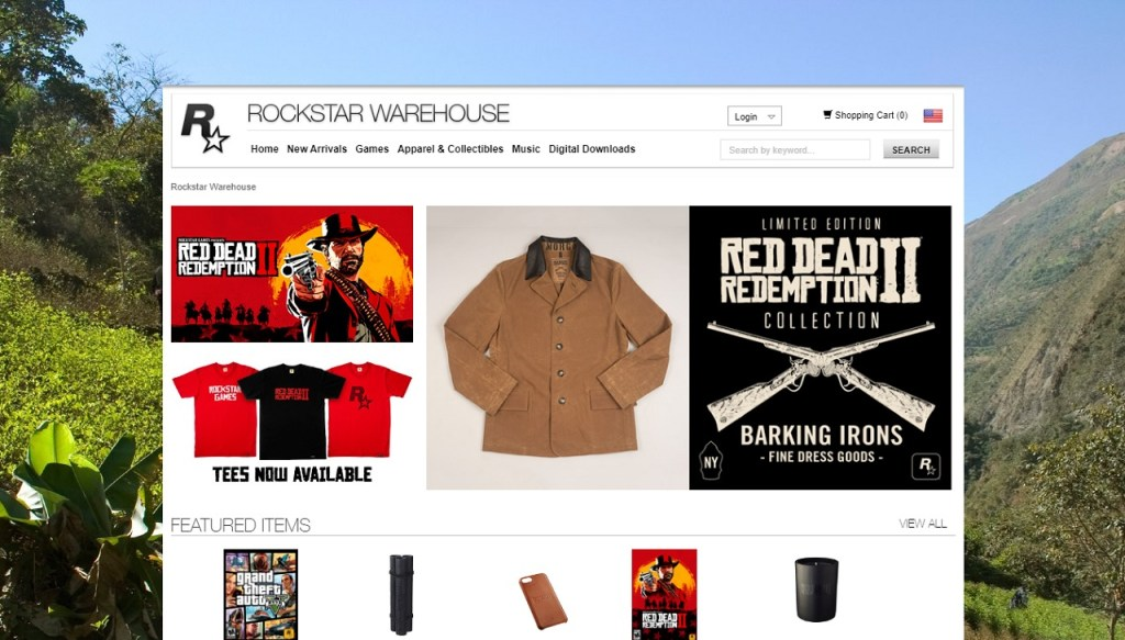 A antiga Rockstar Warehouse