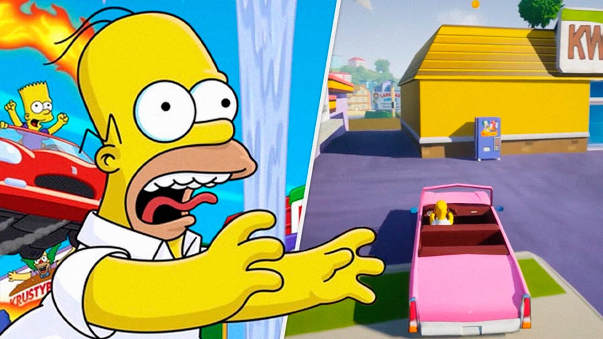 The Simpsons: Hit & Run, conhecido no Brasil como GTA dos Simpsons foi recriado por um fã na Unreal Engine 5 em apenas uma semana.