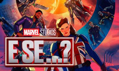 WHAT IF…? é a próxima e primeira série animada do Universo Cinematográfico da Marvel a estrear em breve no Disney Plus.
