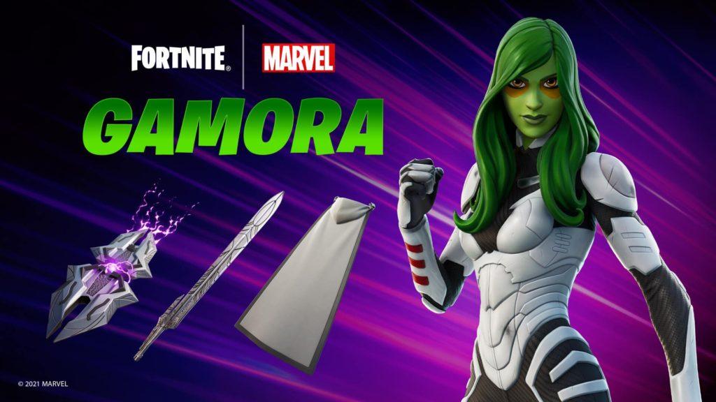 A Skin da Gamora da Marvel está chegando ao Fortnite!