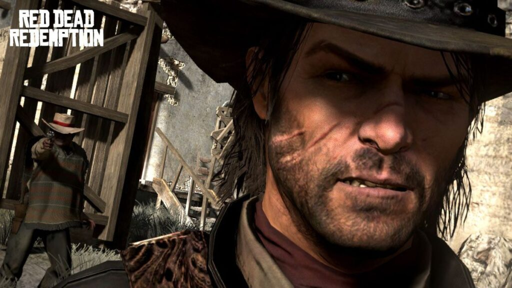 John Marston é o protagonista de Red Dead Redemption.